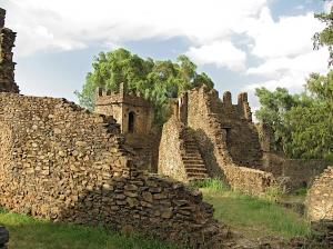 One of the Gondar castles